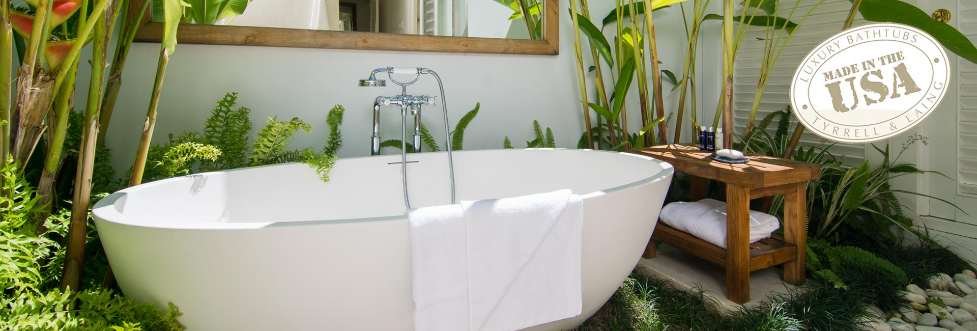 Freestanding jetted bathtubs | Air spa tubs